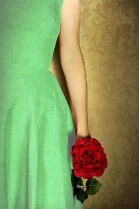 Garota com a rosa