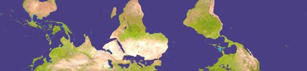 Porque o norte sempre fica acima nos mapas?