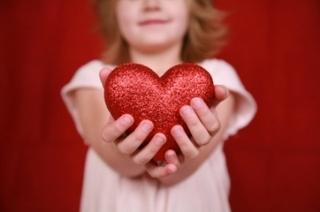 Dê de coração