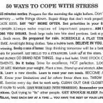 Dicas contra a ansiedade e o stress
