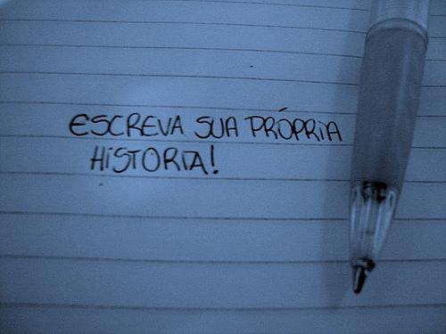 Escreva sua própria história