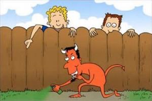 Se o vizinho soubesse...
