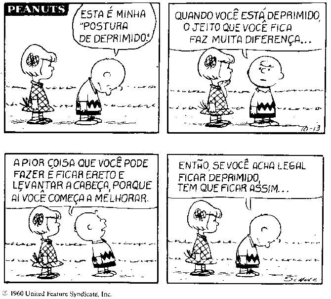 Charlie Brown da depressão
