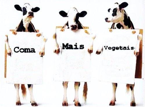 Coma mais vegetais