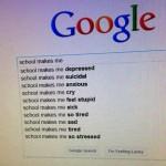 A escola acaba comigo