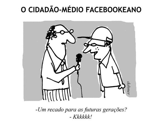 Cidadão facebookeano médio