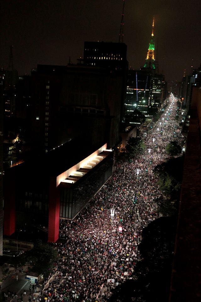 Protestos no Brasil - Av. Paulista