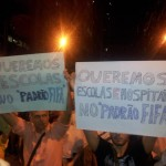 Imagens dos protestos de 2013 no Brasil