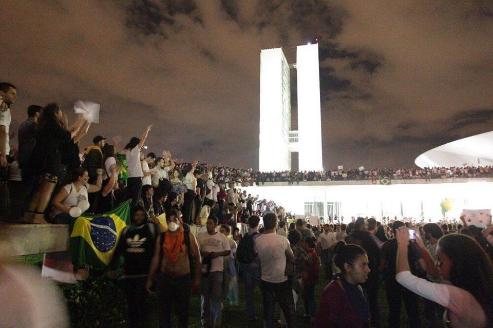 Protestos no Brasil - Brasília