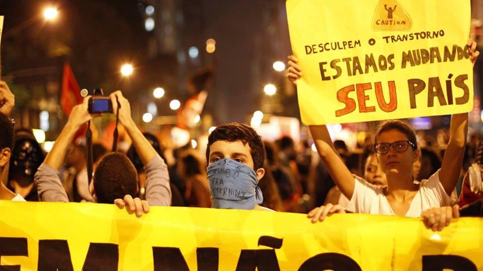Protestos no Brasil - Desculpe o transtorno...