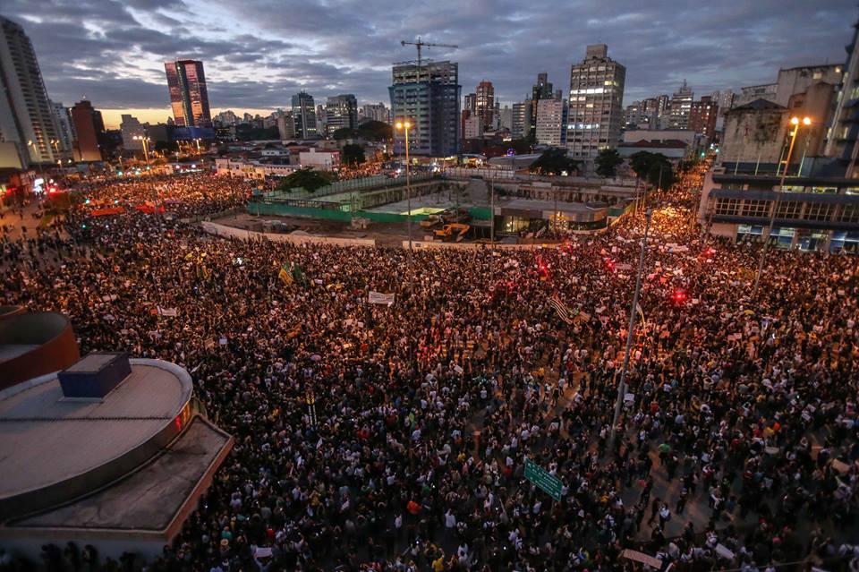 Protestos no Brasil - São Paulo