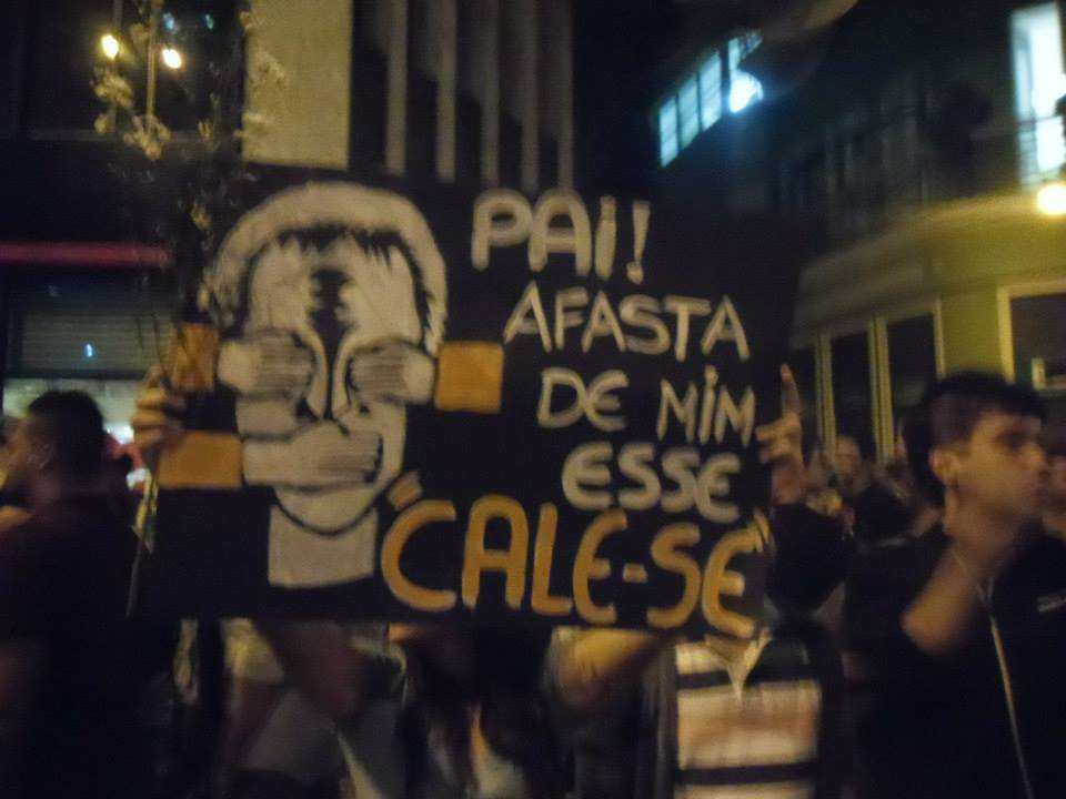 Protestos no Brasil - Afasta de mim esse cale-se!