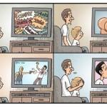 Televisão, moralismo e INCOERÊNCIA