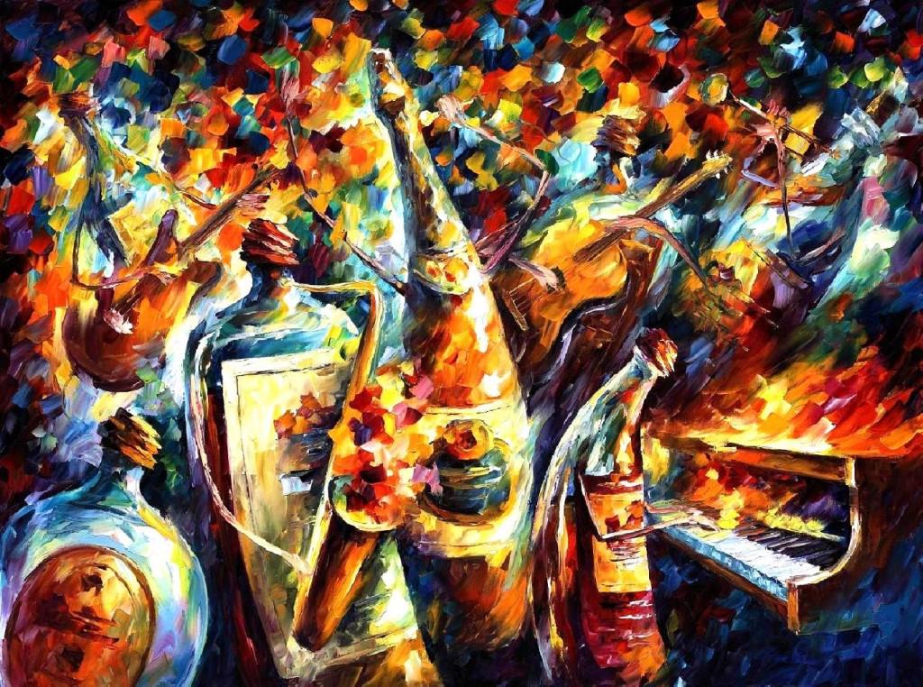 Leonid Afremov - Banda das Garrafas