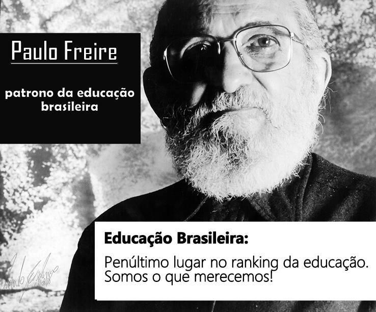 Paulo Freire e sua pedagogia do fracasso