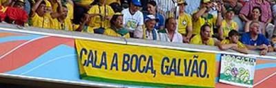 Cala a boca, Galvão - OLD but GOLD