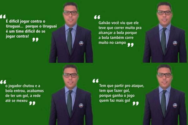 Ronaldo - O líder espiritual da Copa