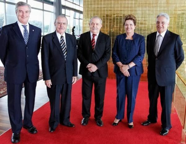 Ex-presidentes: Muy amigos