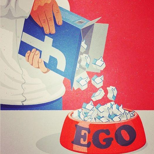 Muito ego pra pouco atrativo