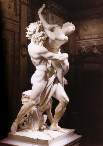 Minha. Toda minha. Para sempre minha! (O rapto de Perséfone de Bernini, 1621)