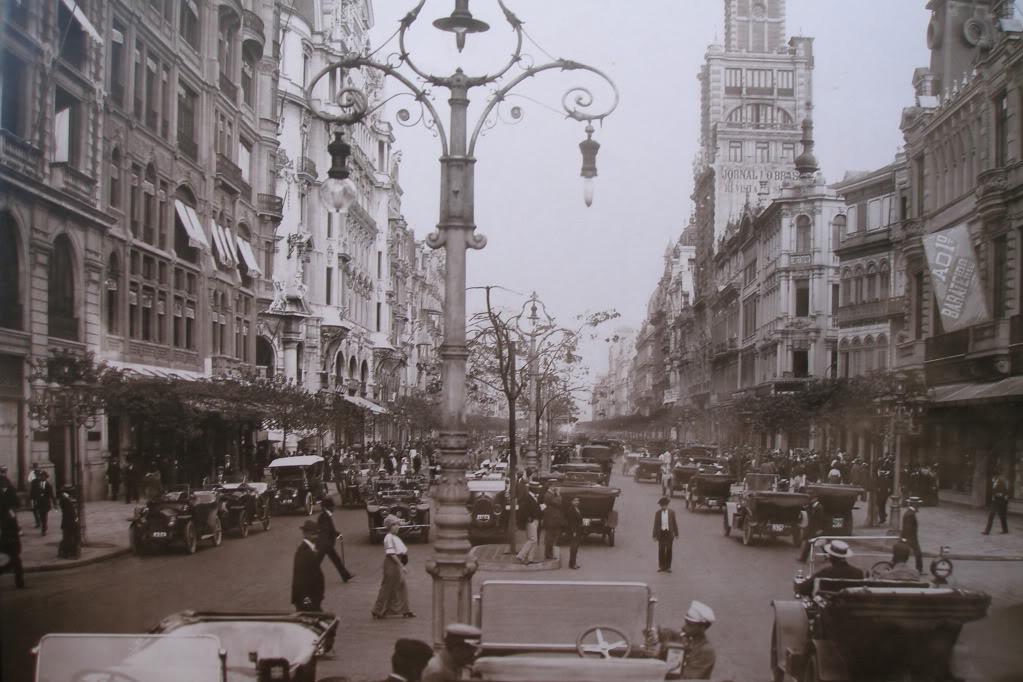 Av. Rio Branco - Rio de Janeiro - 1930