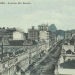 Uma inacreditável Av. Rio Branco – O Rio de Janeiro do início do século XX