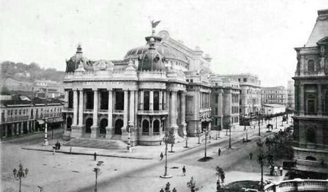 Avenida Rio Branco - ~1910