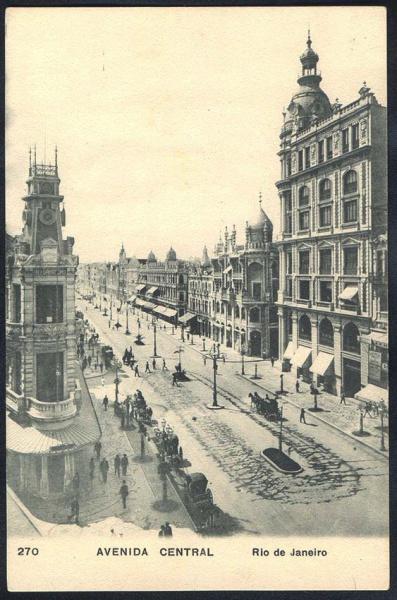 Avenida Rio Branco - ~1915 (2)