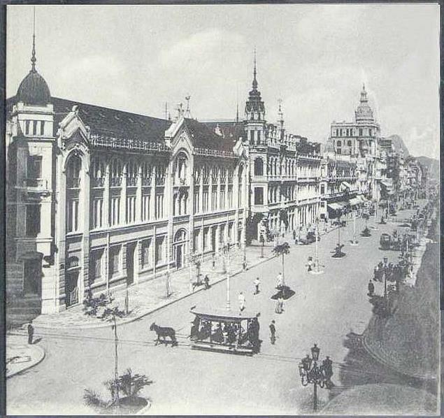 Avenida Rio Branco - ~1915