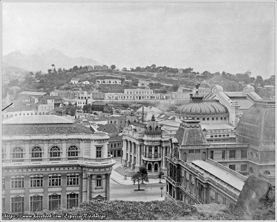Avenida Rio Branco - 1916