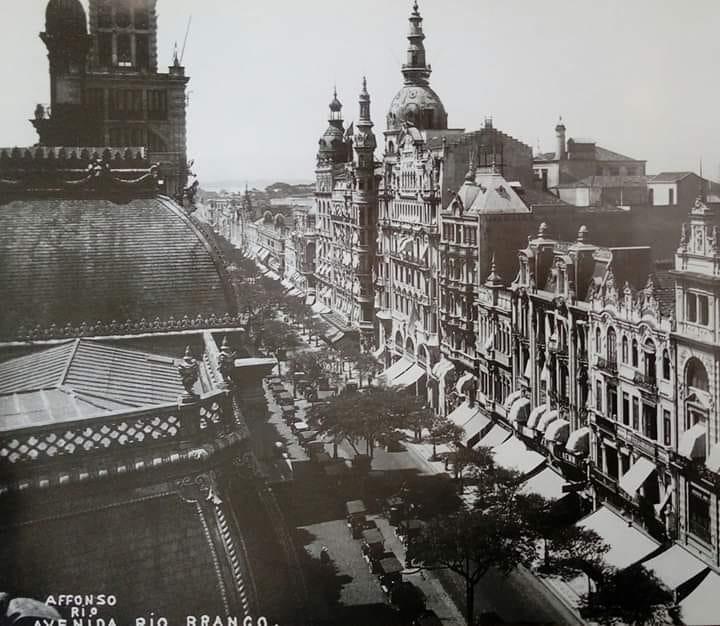 Avenida Rio Branco - ~1920 (2)