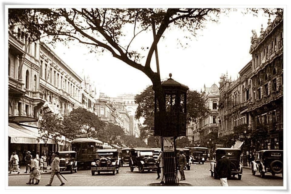 Avenida Rio Branco - ~1920