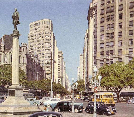 Avenida Rio Branco - ~1940