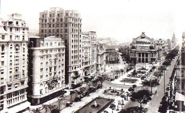 Avenida Rio Branco - Cinelândia - ~1910