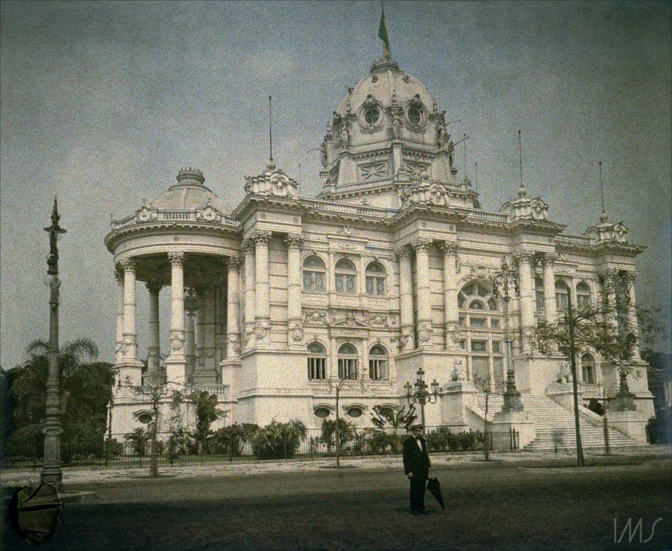 Avenida Rio Branco - Palácio Monroe - 1912