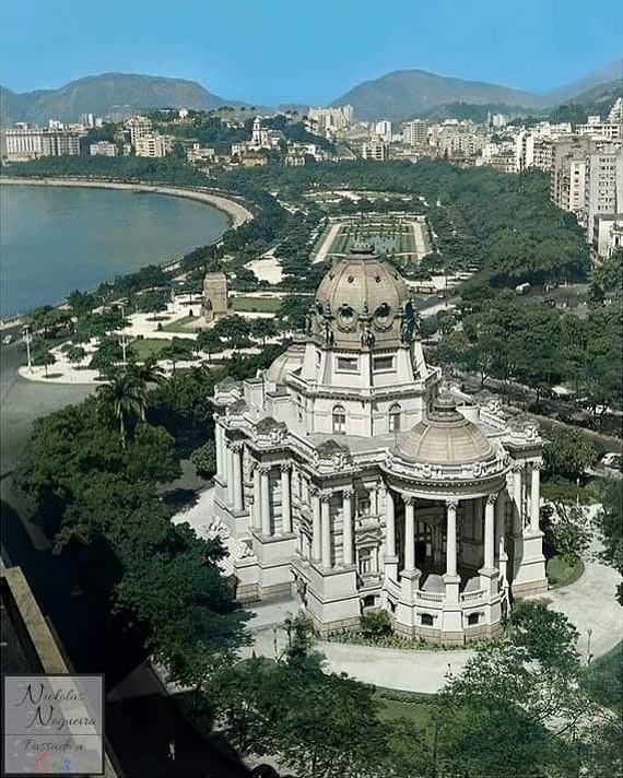Avenida Rio Branco - Palácio Monroe