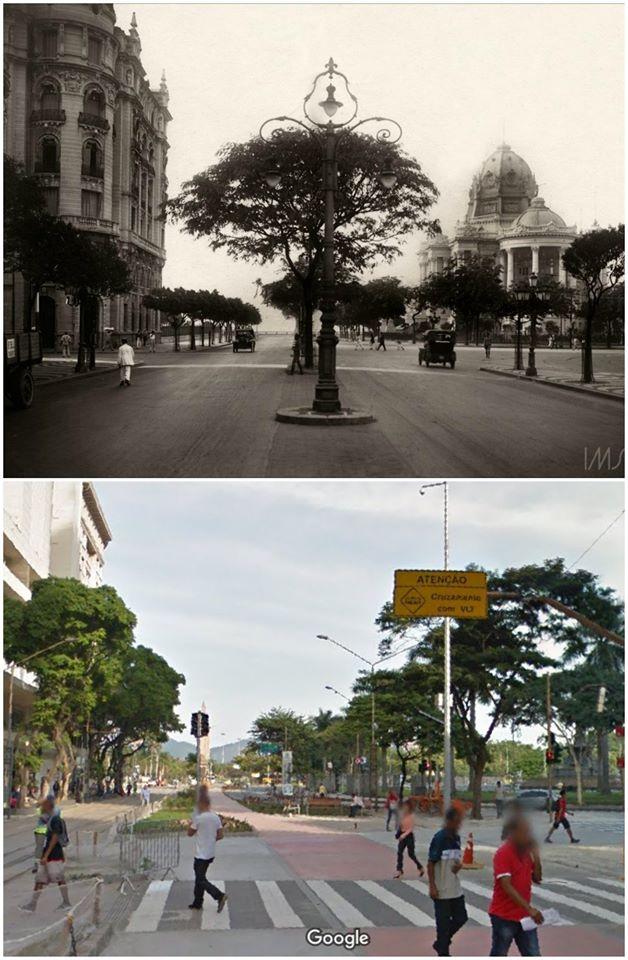 Avenida Rio Branco - Quando havia uma Avenida