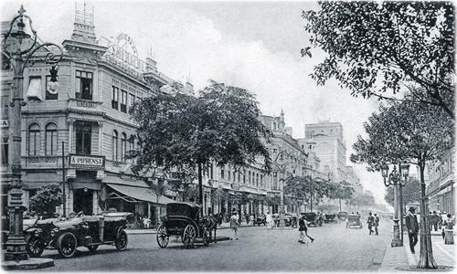 Avenida Rio Branco - 1914