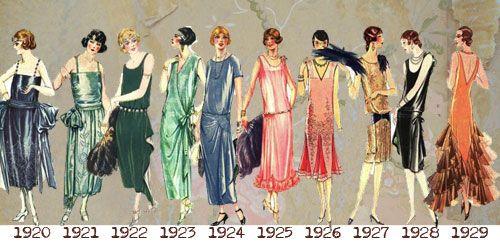 Vestidos dos Anos 20