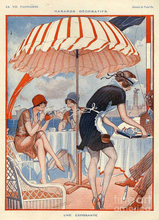 ValdEs illustration for La Vie Parisienne, 1920s