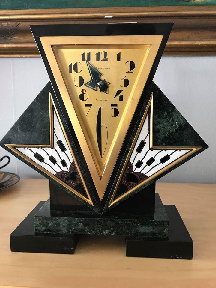 Relógio Art Déco