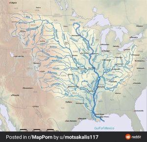 Bacia Hidrográfica do Rio Mississipi