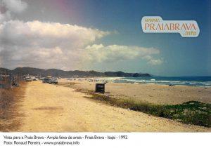 Praia Brava em 1992